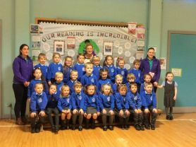Meet our new P1 pupils