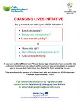 Free Remote workshops from The Changing Lives Initiative